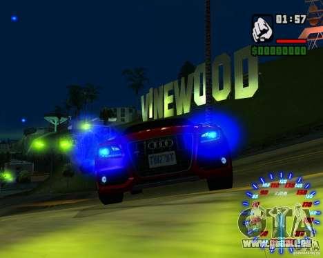 Nouveaux effets pour GTA San Andreas sixième écran
