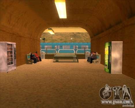 Les plates-formes élevées dans les gares pour GTA San Andreas neuvième écran