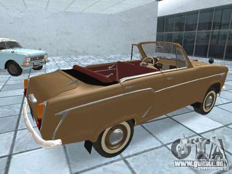 Moskvich 403 Cabrio für GTA San Andreas zurück linke Ansicht