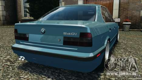 BMW E34 V8 540i für GTA 4 hinten links Ansicht