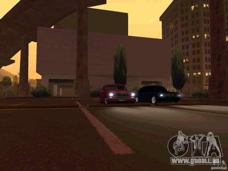 GAZ 24 CR v2 pour GTA San Andreas laissé vue
