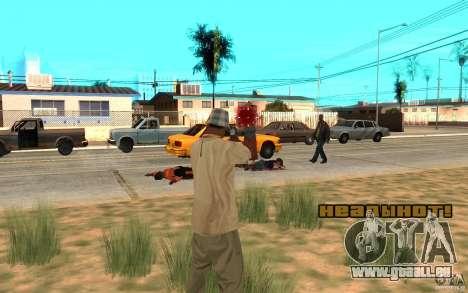 Headshot pour GTA San Andreas deuxième écran