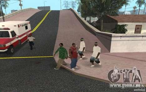 Skins Grove Street pour GTA San Andreas cinquième écran