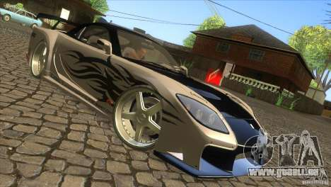 Mazda RX-7 Veilside Logan für GTA San Andreas rechten Ansicht