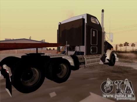 Kenworth T800 für GTA San Andreas rechten Ansicht