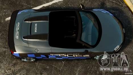 Audi R8 GT Spyder 2012 pour GTA 4 est un droit