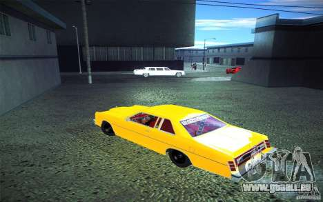 Ford LTD Coupe 1975 für GTA San Andreas Innenansicht