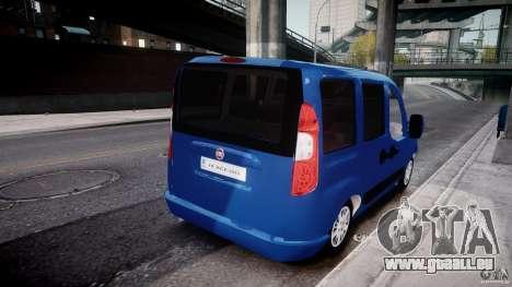 Fiat Doblo 1.9 2009 pour GTA 4 est une vue de l'intérieur