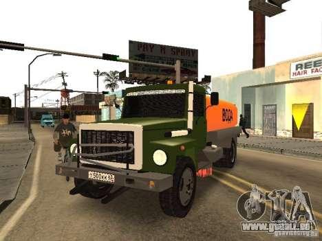 GAZ 3309 für GTA San Andreas Innenansicht