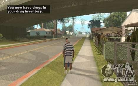 The Black Market Mod v.1.0 pour GTA San Andreas deuxième écran