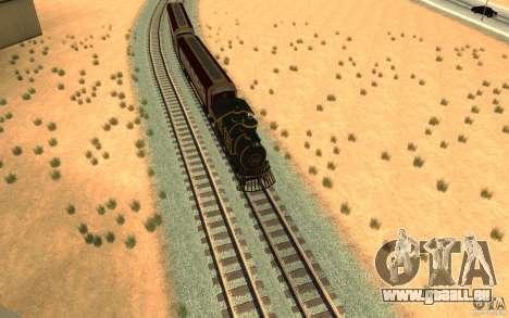 Locomotive pour GTA San Andreas vue de droite