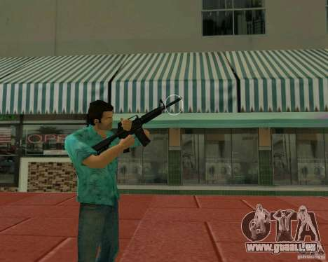 M4A1 für GTA Vice City