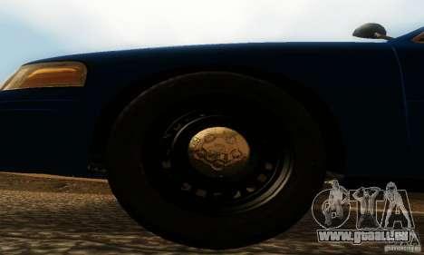 Ford Crown Victoria Michigan Police pour GTA San Andreas vue de droite