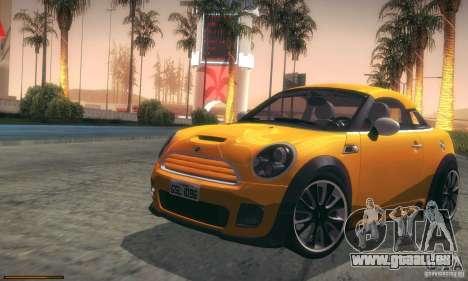 Mini Concept Coupe 2010 pour GTA San Andreas vue de côté