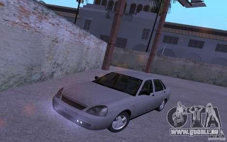 LADA Priora 2170 Etra für GTA San Andreas Rückansicht