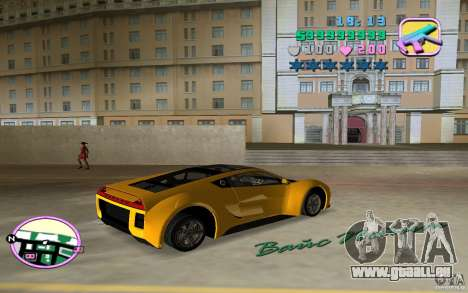 Saleen S5S Raptor für GTA Vice City linke Ansicht