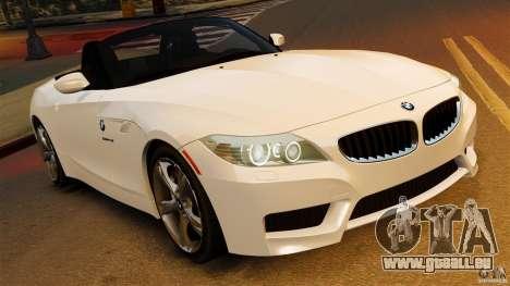BMW Z4 sDrive 28is 2012 v2.0 pour GTA 4