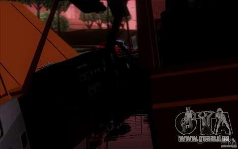 Toyota Land Cruiser FJ55 pour GTA San Andreas sur la vue arrière gauche