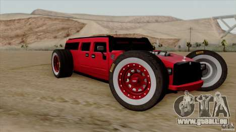 Hummer H2 The HumROD für GTA San Andreas
