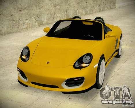 Porsche Boxter Spyder pour GTA San Andreas vue de droite