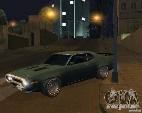 Plymouth Roadrunner pour GTA San Andreas