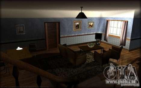 Nouvelles textures pour la maison Džonsonov pour GTA San Andreas deuxième écran