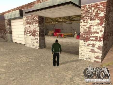 Activation des garages non utilisés pour GTA San Andreas deuxième écran
