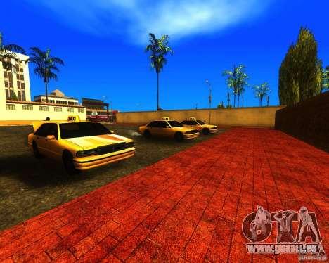 Einem belebten Bahnhof in Los Santos für GTA San Andreas her Screenshot