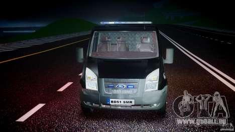 Ford Transit SWAT [ELS] pour GTA 4 est un côté