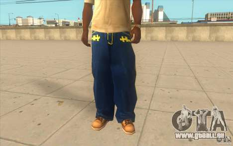 Karl Kan Puzzle Jeans pour GTA San Andreas