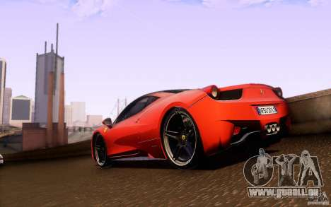 Ferrari 458 Italia Final für GTA San Andreas