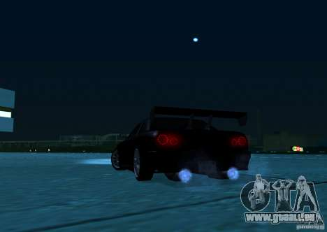 ELEGY TUNING MOD pour GTA San Andreas sur la vue arrière gauche