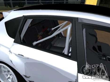 Subaru Impreza STI hellaflush für GTA San Andreas obere Ansicht