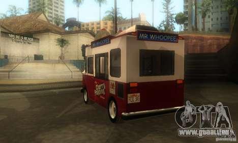 Chevrolet Forvard Control für GTA San Andreas linke Ansicht
