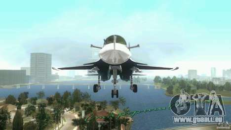 Vice City Air Force für GTA Vice City linke Ansicht