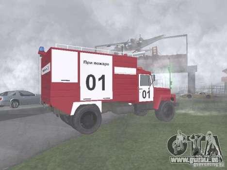 Feu GAZ 3309 pour GTA San Andreas laissé vue