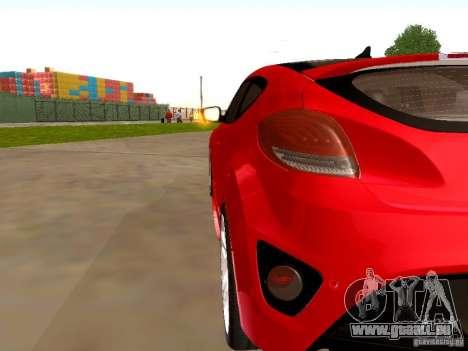 Hyundai Veloster Turbo v1.0 für GTA San Andreas rechten Ansicht