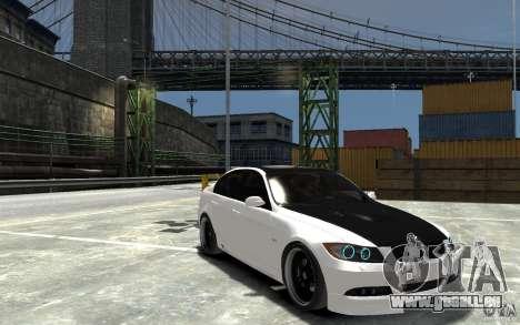 BMW 330i E60 Tuned 2 pour GTA 4 Vue arrière