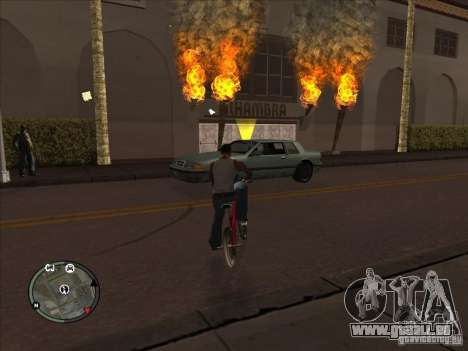 Addon à icônes pour GTA San Andreas quatrième écran