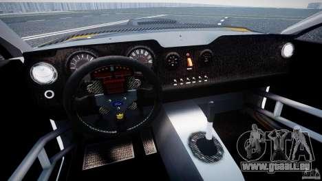 Ford Mustang GT-R pour GTA 4 Vue arrière