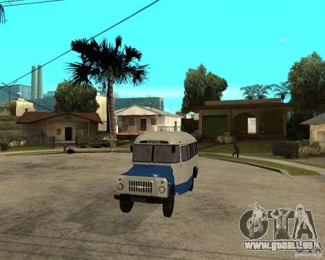 Kavz-685 pour GTA San Andreas vue intérieure