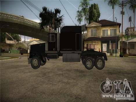 Linerunner de GTA 3 pour GTA San Andreas sur la vue arrière gauche