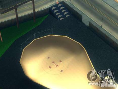 New BMX Park pour GTA San Andreas troisième écran