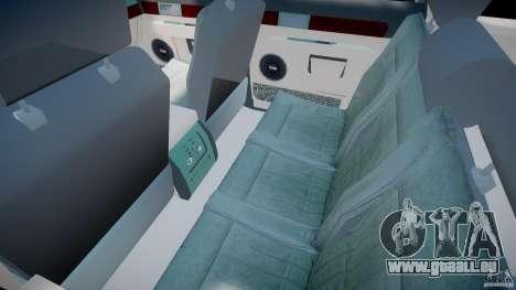 Lincoln Navigator 2004 pour GTA 4 est une vue de l'intérieur
