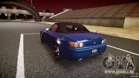 Honda S2000 2002 v2 pour une balade tranquille pour GTA 4 est un côté