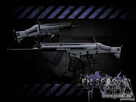 FN Scar-L HD für GTA San Andreas