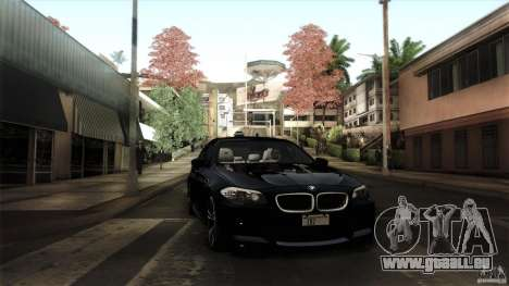 BMW M5 F10 2012 für GTA San Andreas Räder