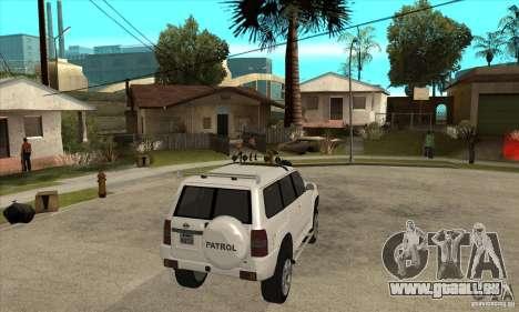 Nissan Patrol 2005 für GTA San Andreas rechten Ansicht
