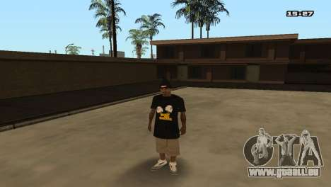 Skin Pack Ballas für GTA San Andreas zehnten Screenshot