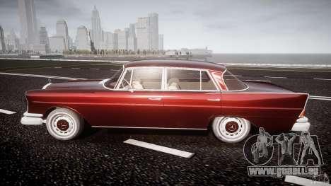 Mercedes-Benz W111 v1.0 für GTA 4 linke Ansicht
